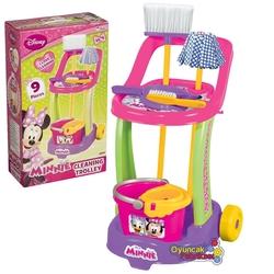 Dede toys - Minnie Mouse Temizlik Seti Arabalı