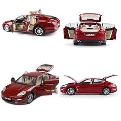 Motor Max - Model Araba 1:18 Porshe Panamera Bordo Die Cast Car