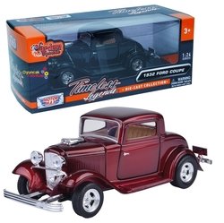 Motor Max - Model Araba Motormax 1:24 1932 Ford Coupe