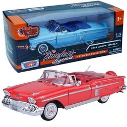 Motor Max - Model Araba Motormax 1:24 1958 Chevy İmpala