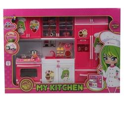 Modern Oyuncak Mutfak Seti 3 Lü Sesli Işıklı Minti Minti - Thumbnail
