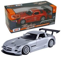 MotorMax 1:24 Model Araba Mercedes-Benz Sls Amg Gt3 - Thumbnail