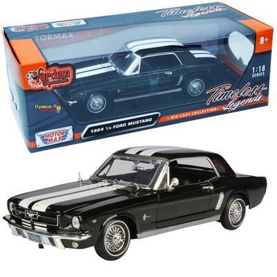 Motormax Diecast Model Araba 1:18 1964 1/2 Ford Mustang Hardtop