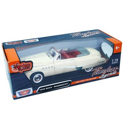 Motormax Model Araba 1:18 1949 Buick Roadmaster