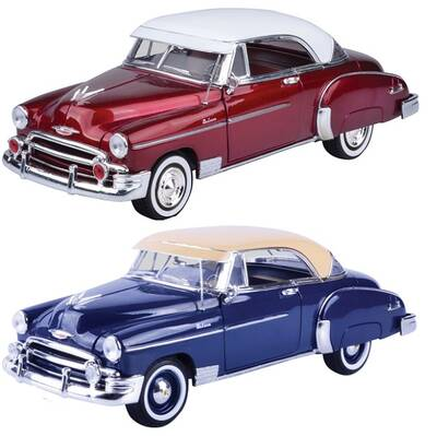 Motormax Model Araba 1:18 1950 Chevy Bel Air