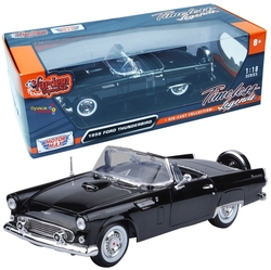 Motor Max - Motormax Model Araba 1:18 1956 Ford Thunderbird Convertible