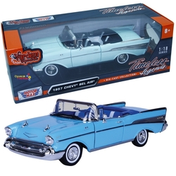 Motor Max - Motormax Model Araba 1:18 1957 Chevy Bel Air ( Convertible )