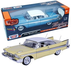Motor Max - Motormax Model Araba 1:18 1958 Plymouth Fury
