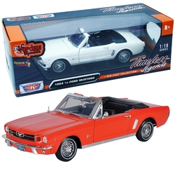 Motor Max - Motormax Model Araba 1:18 1964 1/2 Ford Mustang