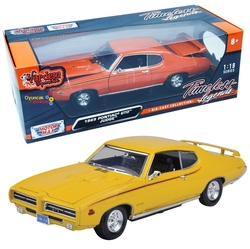 Motor Max - Motormax Model Araba 1:18 1969 Pontiac Gto Judge