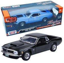 Motor Max - Motormax Model Araba 1:18 1970 Ford Mustang Boss 429