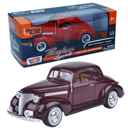 Motor Max - Motormax Model Araba 1:24 1939 Chevrolet Coupe
