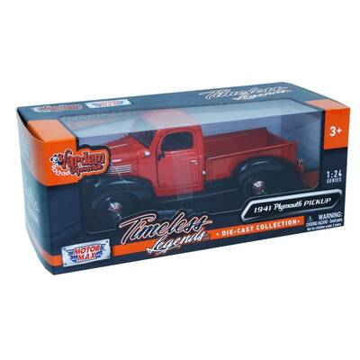 Motormax Model Araba 1:24 1941 Plymouth Pickup