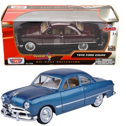 Motor Max - Motormax Model Araba 1:24 1949 Ford Coupe