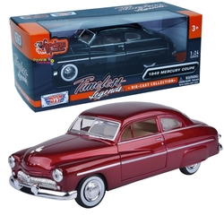 Motor Max - Motormax Model Araba 1:24 1949 Mercury Coupe