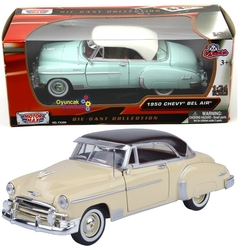 Motor Max - Motormax Model Araba 1:24 1950 Chevy Bel Air