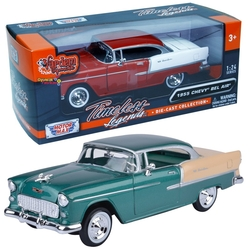 Motor Max - Motormax Model Araba 1:24 1955 Chevy Bel Air
