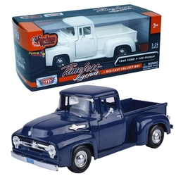Motor Max - Motormax Model Araba 1:24 1956 Ford F-100 Pickup