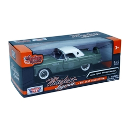 Motormax Model Araba 1:24 1956 Ford Thunderbird (Hardtop) - Thumbnail