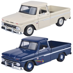 Motor Max - Motormax Model Araba 1:24 1966 Checy C10 Fleetside Pickup