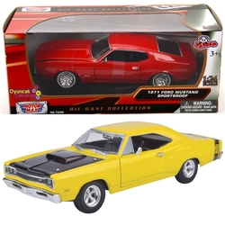 Motor Max - Motormax Model Araba 1:24 1969 Dodge Coronet Superbee
