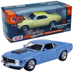 Motor Max - Motormax Model Araba 1:24 1970 Ford Mustang Boss 429