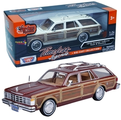 Motor Max - Motormax Model Araba 1:24 1979 Chrysler Lebaron Town & Country