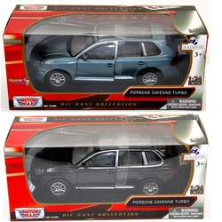 Motor Max - Motormax Model Araba 1:24 Porsche Cayenne Turbo