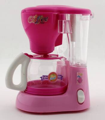 Mutlu Mutfağım Mini Kahve Makinası Koyu Pembe 0037