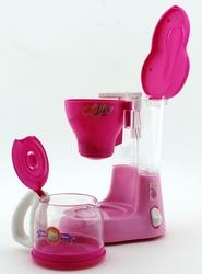 Mutlu Mutfağım Mini Kahve Makinası Koyu Pembe 0037 - Thumbnail