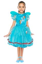 PONY - My Little Pony Rainbow Dash Kostüm 7-9 Yaş