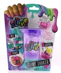 SLIME SHAKER - Neon Mor Slime Shaker Rainbow Tekli Paket