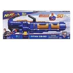 Nerf - Nerf Elite Titan CS-50 Yumuşak Mermili Silah