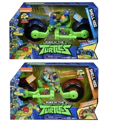 Giochi Preziosi - Ninja Turtles Rotmnt Araç ve Aksiyon Figür Oyun Seti Michelangelo ve Leonarda