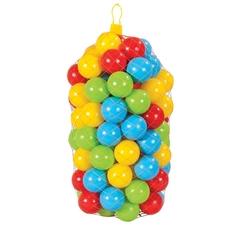 Pilsan Oyuncak - Oyun Havuz Topu 100 Adet 7 Cm