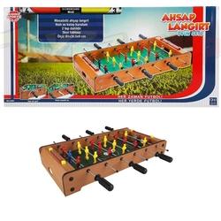 Sunman - Oyuncak Ahşap Futbol Langırt Oyunu 3 Kollu