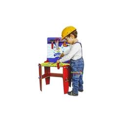Matrax OyuncakFabrikasi - Oyuncak Ahşap Tezgahlı Tamir Seti İlk Tamir Setim Aksesuarlı