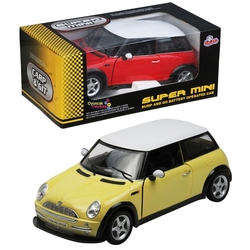 Vardem Oyuncak - Oyuncak Araba 1:20 Mini Cooper Müzikli Işıklı