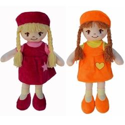 Halley Oyuncak - Oyuncak Bez Bebek Şapkalı Yeni Moda 45 Cm