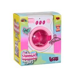 Oyuncak Çamaşır makinası Pilli Işıklı Sesli Süper Kalite - Thumbnail