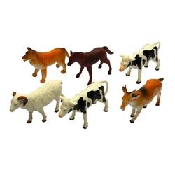 Oyuncak Çiftlik Hayvanları Seti 13 Cm 6 Adet - Thumbnail