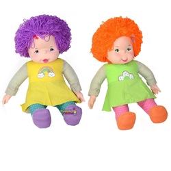 Sunman - Oyuncak Çıkıta Lahana Bebek 65 cm Renkli Bonus Saçlı