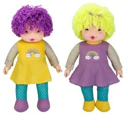 Sunman - Oyuncak Çıkıta Lahana Bebek 70 cm Renkli Bonus Saçlı
