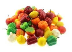 MEGA - Oyuncak Dekoratif Küçük Boy Sebze ve Meyveler