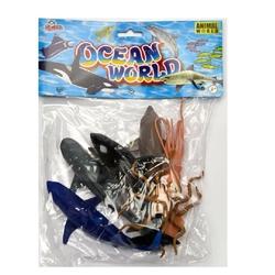 Vardem Oyuncak - Oyuncak Deniz Hayvan Seti 13 Cm 6 Adet