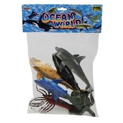 Vardem Oyuncak - Oyuncak Deniz Hayvan Seti 6 Parça 20 Cm