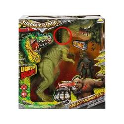 Sunman - Oyuncak Dinozor 33 Cm Sesli ve Işıklı Figürlü Oyun Seti