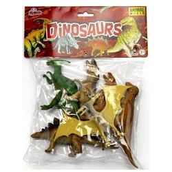 Vardem Oyuncak - Oyuncak Dinozor Hayvan Seti 13 Cm 6 Adet