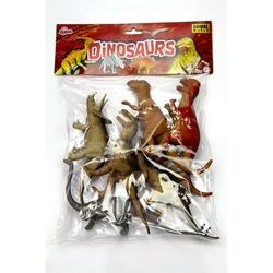 Vardem Oyuncak - Oyuncak Dinozor Hayvan Seti 6 Parça 20 Cm