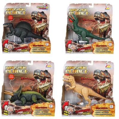 Oyuncak Dinozor Sesli ve Işıklı 24 Cm